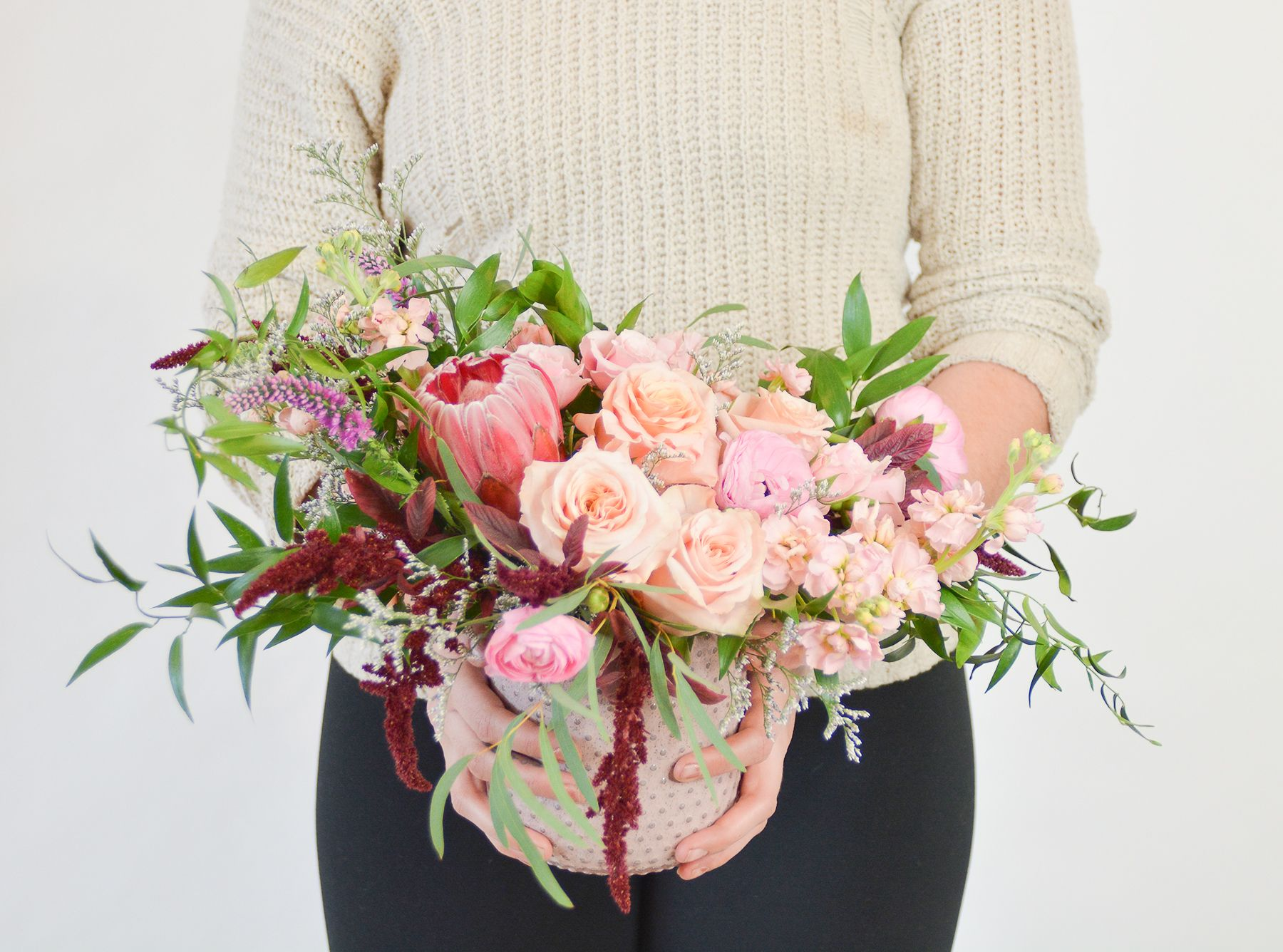Swiped Right Arrangement Flower delivery, Garden gifts