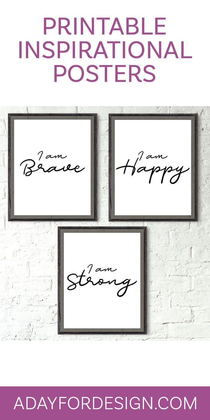 free printable posters