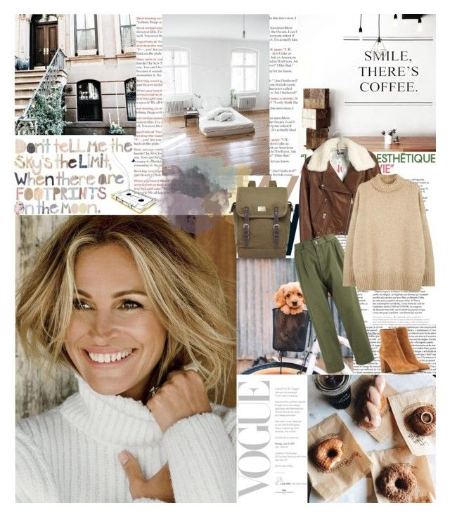 """The older you get, the more fragile you understand life to be. I think that's good motivation for getting out of bed joyfully each day. by Julia Roberts"" by valentina-back ❤ liked on Polyvore featuring Acne Studios, Marc by Marc Jacobs, NLST, Toast and Gianvito Rossi"