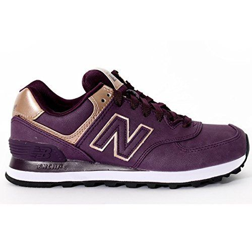 New Balance Classic Traditionnels Purple Womens Trainers - WL574PGO,  http://www.