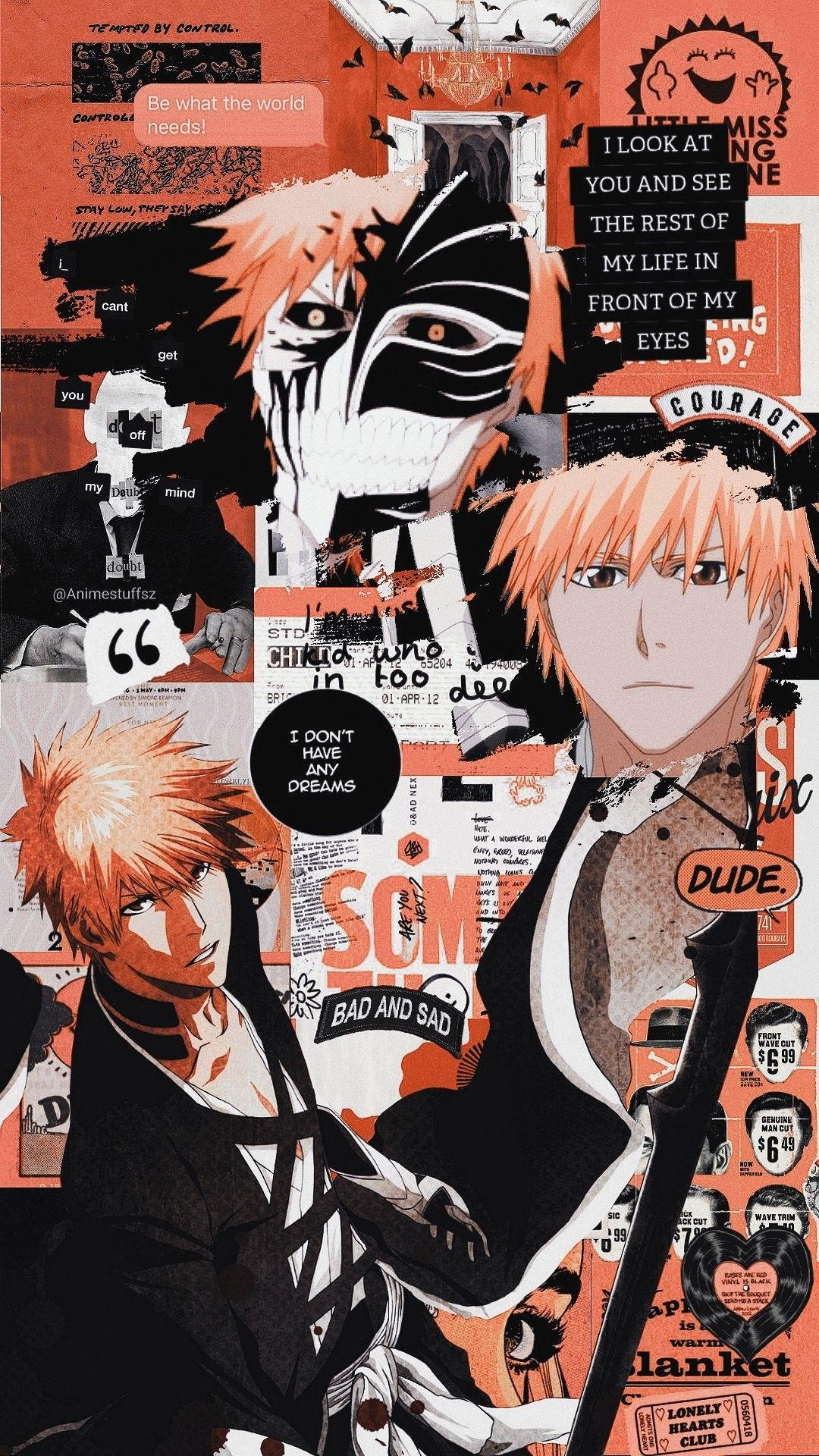 Idea by Heather Kendall on Bleach Anime, Bleach, Poster
