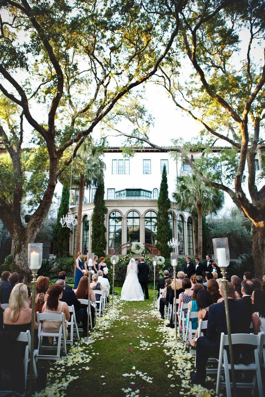 Sea Island Cloister Garden Wedding Georgia Sea Island Wedding Island Weddings Sea Island