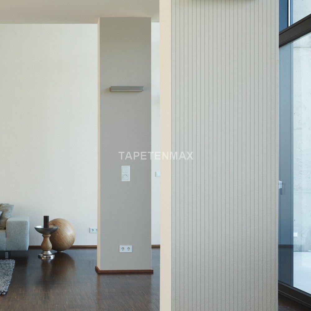 1150-65 Schöner Wohnen 4 - Livingwalls Vliestapete Streifen weiß grau
