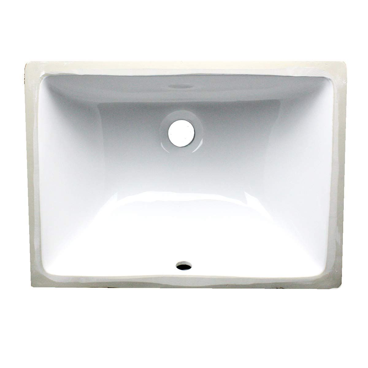Nantucket Sinks Um 16x11 W 16 Inch By 11 Inch Rectangle Ceramic Undermount Vanity White Check Out The Image By Small Bathroom Sinks Bathroom Sink Tops Sink