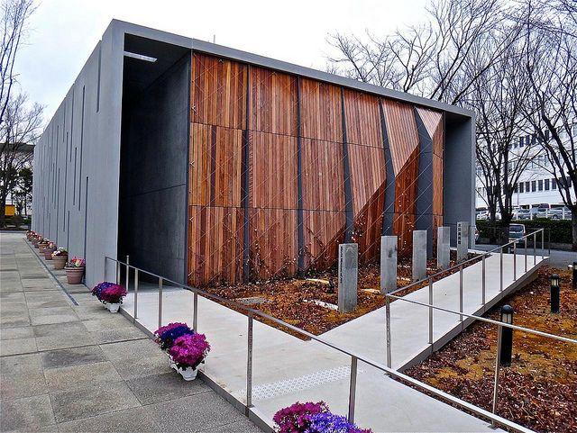 城西大学 水田美術館, Mizuta Museum of Art, Josai University, Saitama, Japan by Ken Lee 2010, via Flickr