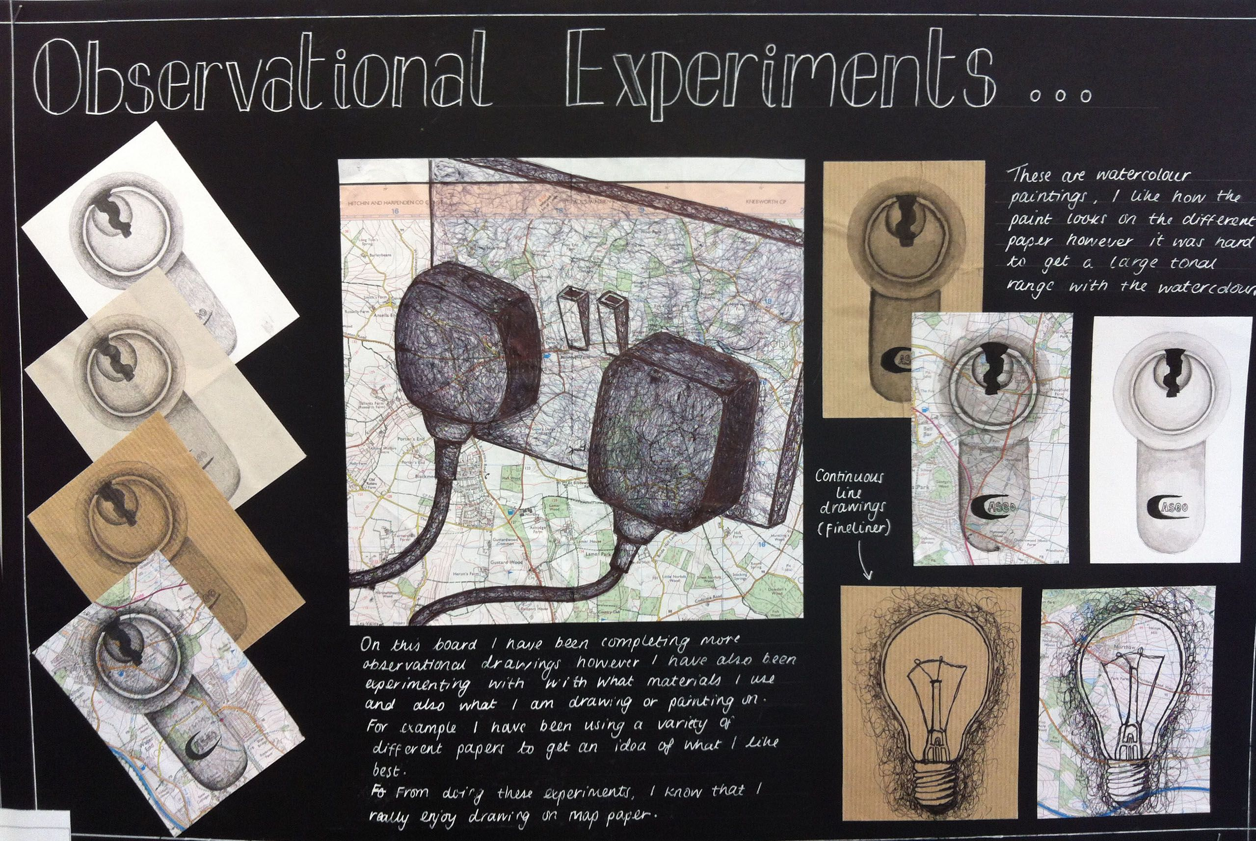Beaumont School Gcse Observational Experiments Gcse Art Sketchbook Sketchbook Layout Sketch Book