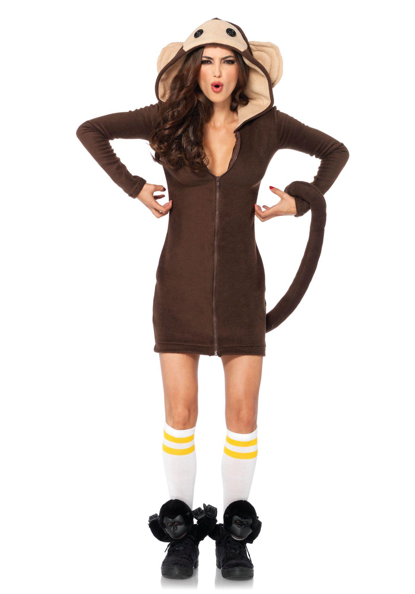 4dda88ff9b2e8 Leg Avenue Cozy Monkey Costume #Zoo #Animal #Jungle | Costumes ...