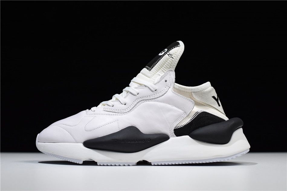 adidas   Y3 Introducing Kaiwa Y3 Fall 2018 Paris White Black Shoes b9a8c47ac735