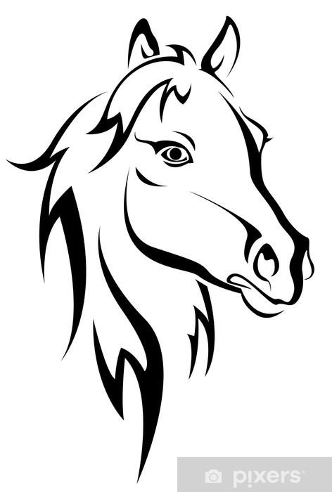 Disegni Da Colorare Testa Di Cavallo.Carta Da Parati Silhouette Cavallo Nero Pixers Viviamo Per Il Cambiamento Sagoma Di Cavallo Disegni Di Cavalli Testa Di Cavallo