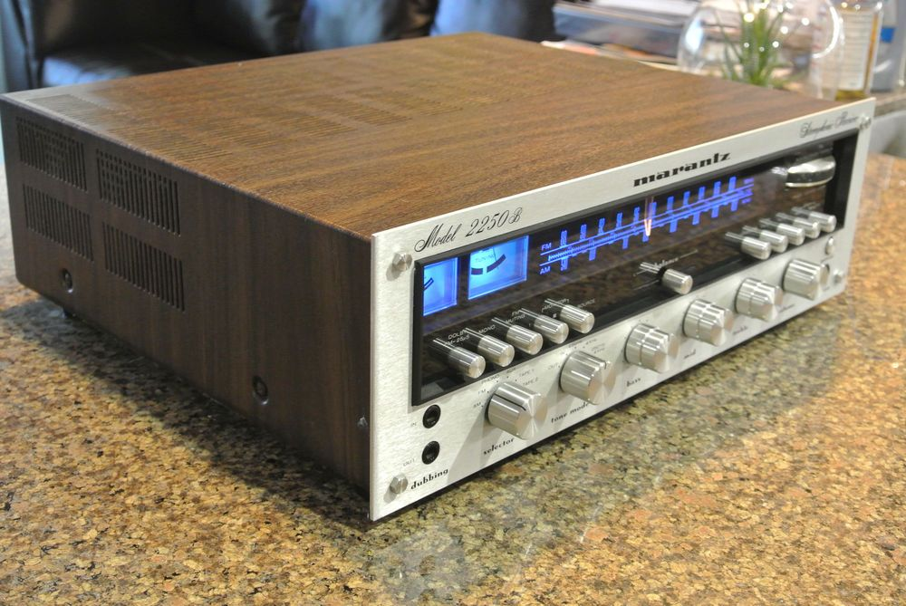 Mint Condition Marantz Model 2250B Stereophonic Receiver **Serviced With LED's** #MARANTZ