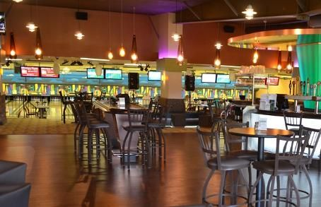 BEST BOWLING ALLEY-RIVERWOOD.  Grab a group of friends and join a bowling league! Newly designed, Riverwood offers a fun filled atmosphere with cheap drink and food specials. The live entertainment at Riverwood adds that little something special to your weekend activities.