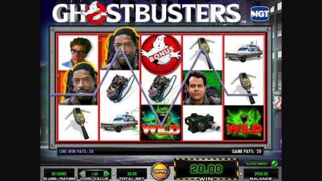 Картинки по запросу слот Ghostbusters