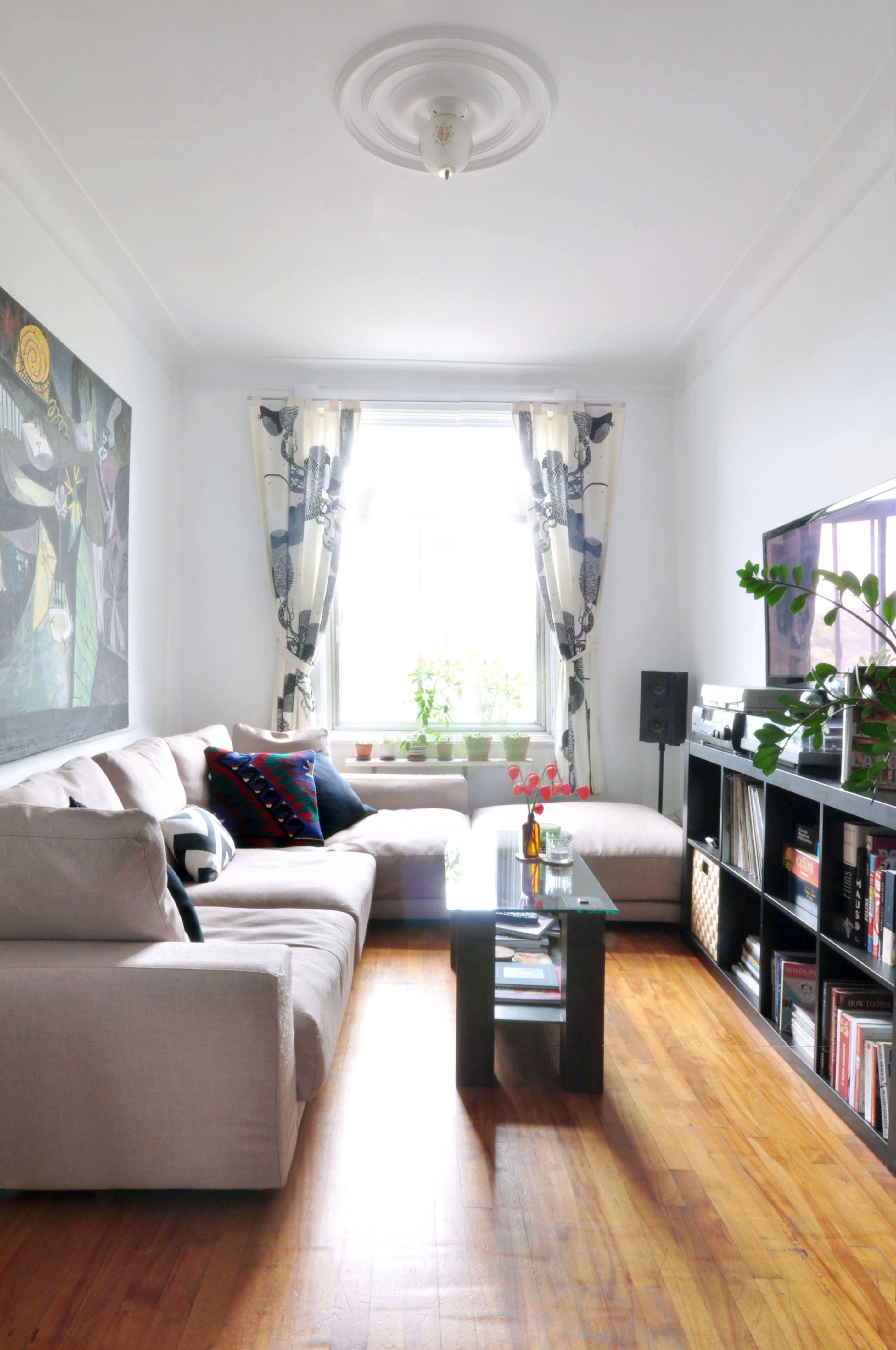 Small Condo Living Room Design Ideas: Narrow Living Room, Small