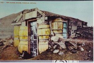 Tonopah, Nevada - Barrel House, 1905 Post Card