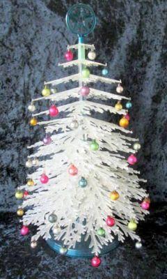 Vintage 1950 S Plasco Plastic Christmas Tree W Box Plastic Christmas Tree Christmas Christmas Past