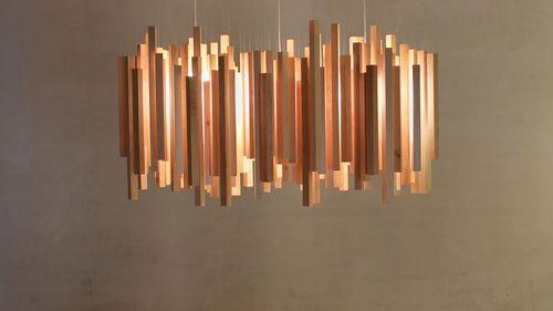 Designer Holz Pendelleuchte Woods By Hector Serrano Arturo Alvarez