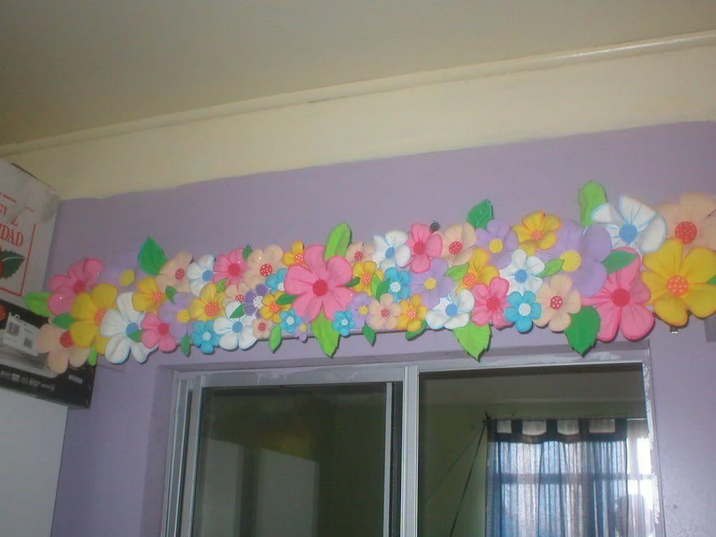 Resultado de imagen para cenefas en foami para cuarto de niñas ...