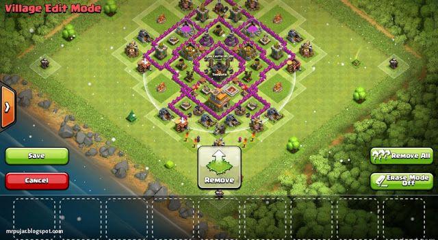 Base Coc Th 7 Kuat 9