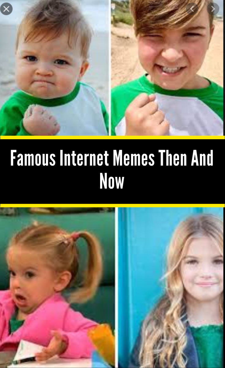 Everyone S Favorite Memes Are All Grown Up Here S What They Look Like Now Funny Jokes Funny Funny Images