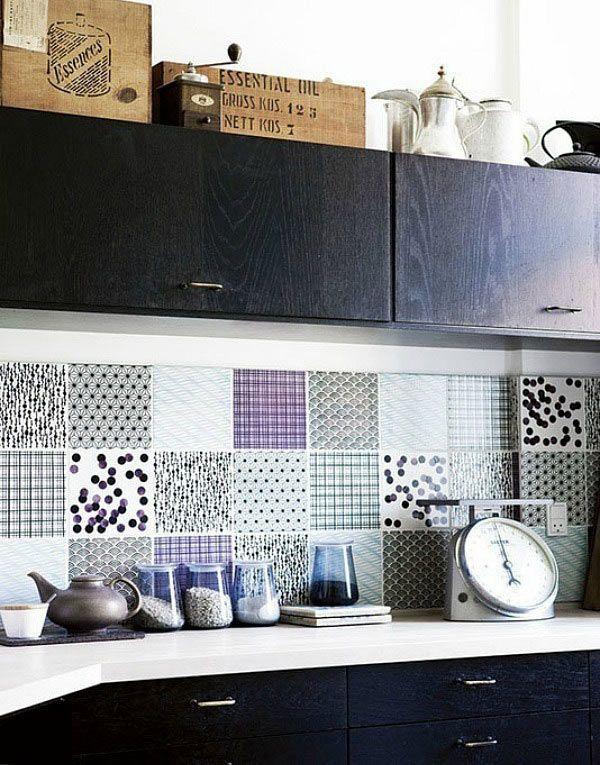 40 Sensational Kitchen Splashbacks Creative Kitchen Backsplash
