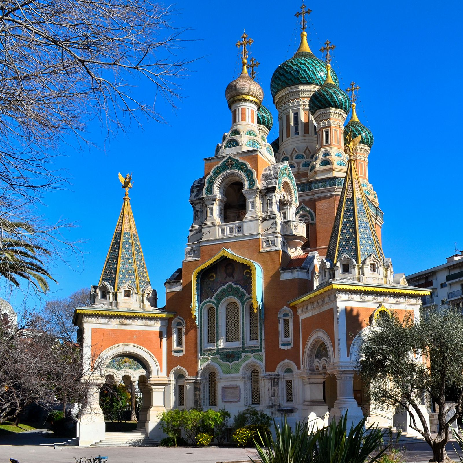 Image result for nice  france Russian Orthodox Cathedral of St. Nicholas