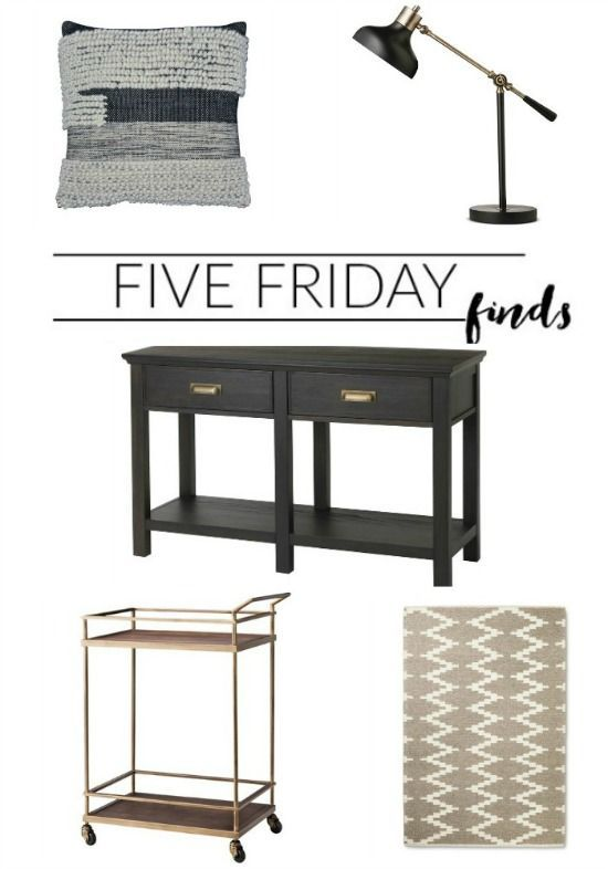 FIVE FRIDAY FINDS: Can't miss sales from Target! http://www.littlehouseoffour.com