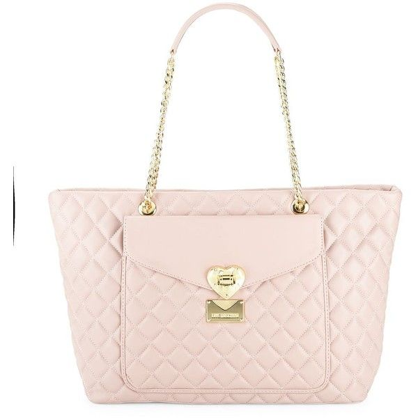 Love Moschino Quilted faux leather shoulder bag PCPFe