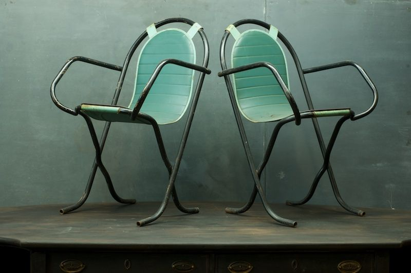 Vintage Industrial Umpire Chairs : 20th Century Vintage Furnishings & Design