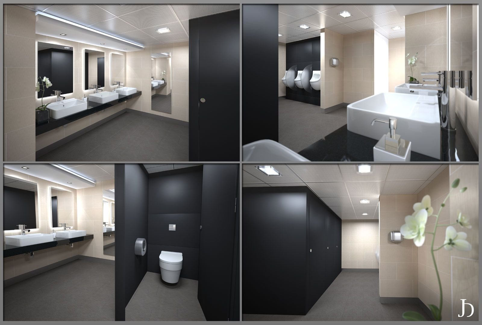 commercial restrooms