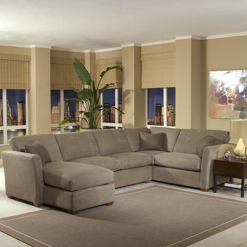 Options Sectional with 1 Arm Left Facing Chaise Lounge and 1 Arm