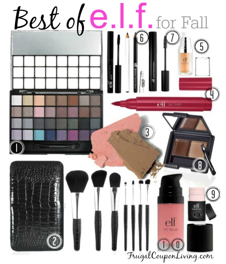 Best of e.l.f. (eyes, lips, face) Fall Makeup on Frugal Coupon Living's Frugal Fashion Friday - Beauty Deals on the cheap! http://www.frugalcouponliving.com/2014/08/22/frugal-fashion-friday-best-e-l-f-fall-makeup/