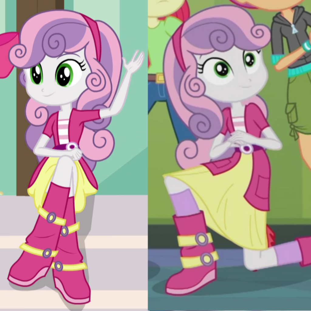 1621179 Apple Bloom Clothes Comparison Cutie Mark Crusaders Equestria Girls My Little Pony Pictures My Little Pony Wallpaper My Little Pony Characters We show you exactly how to draw with easy steps on video or images lesson. apple bloom clothes comparison cutie