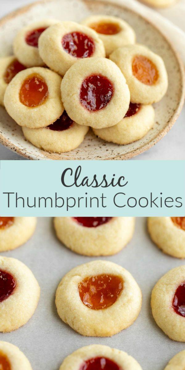 Daumenabdruckkekse #christmascookies