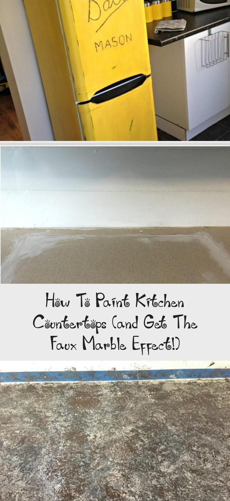 How To Paint Kitchen Countertops (and Get The Faux Marble Effect!) - KTCHN#countertops #effect #faux #kitchen #ktchn #marble #paint #marblecountertops How To Paint Kitchen Countertops (and Get The Faux Marble Effect!) - KTCHN#countertops #effect #faux #kitchen #ktchn #marble #paint #marblecountertops