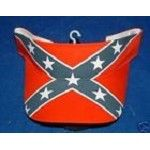 Rebel Flag Confederate Visor - New
