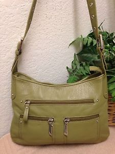 Stone Co Mountain Handbag Leather Bag Shoulder Green Ebay