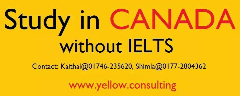 Study in Canada, without Ielts