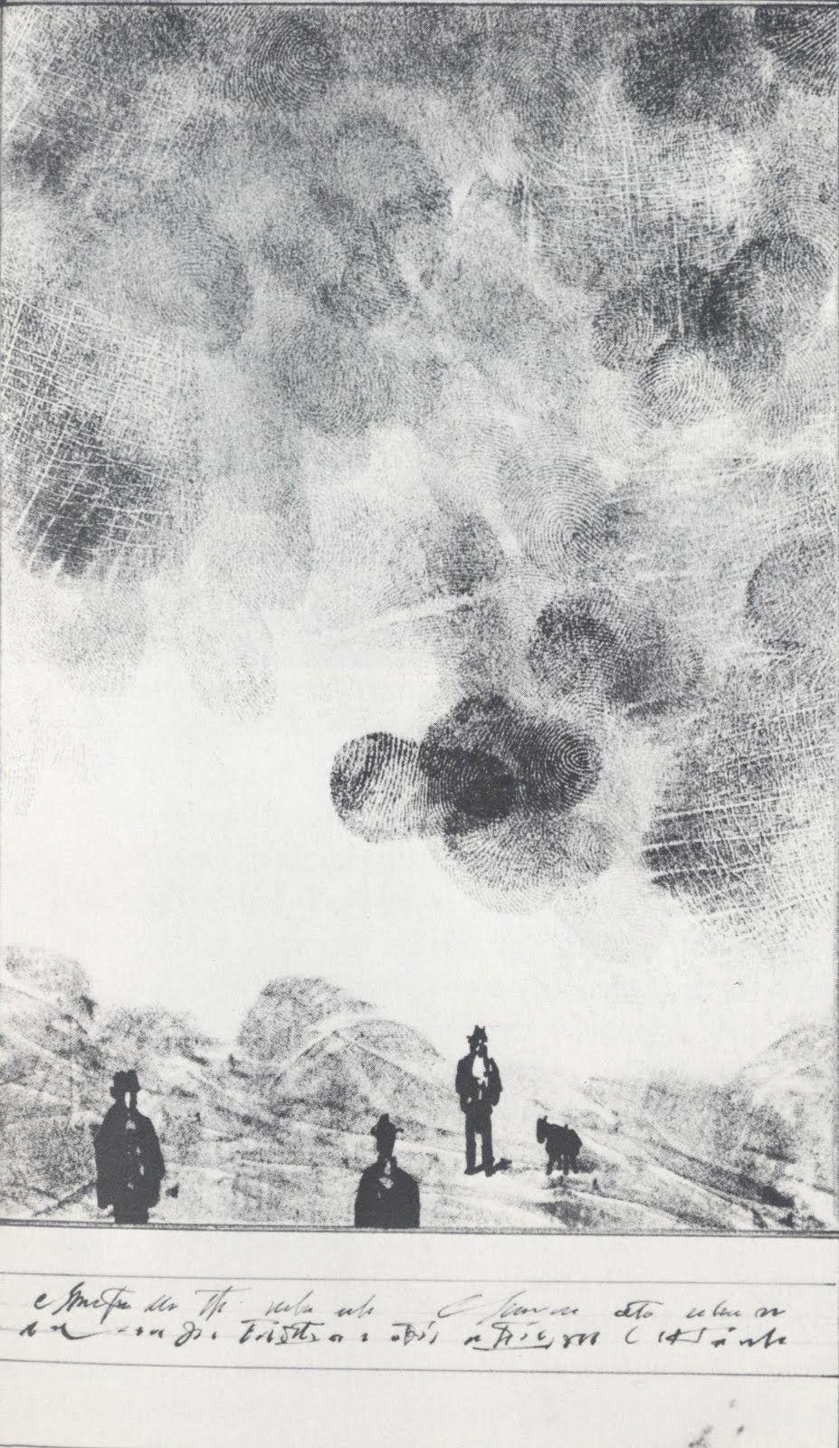 Saul Steinberg - Thumbclouds. dd