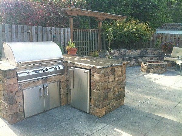 Outdoor Grill | Backyard | Pinterest | Garten küche, Grill und Outdoor