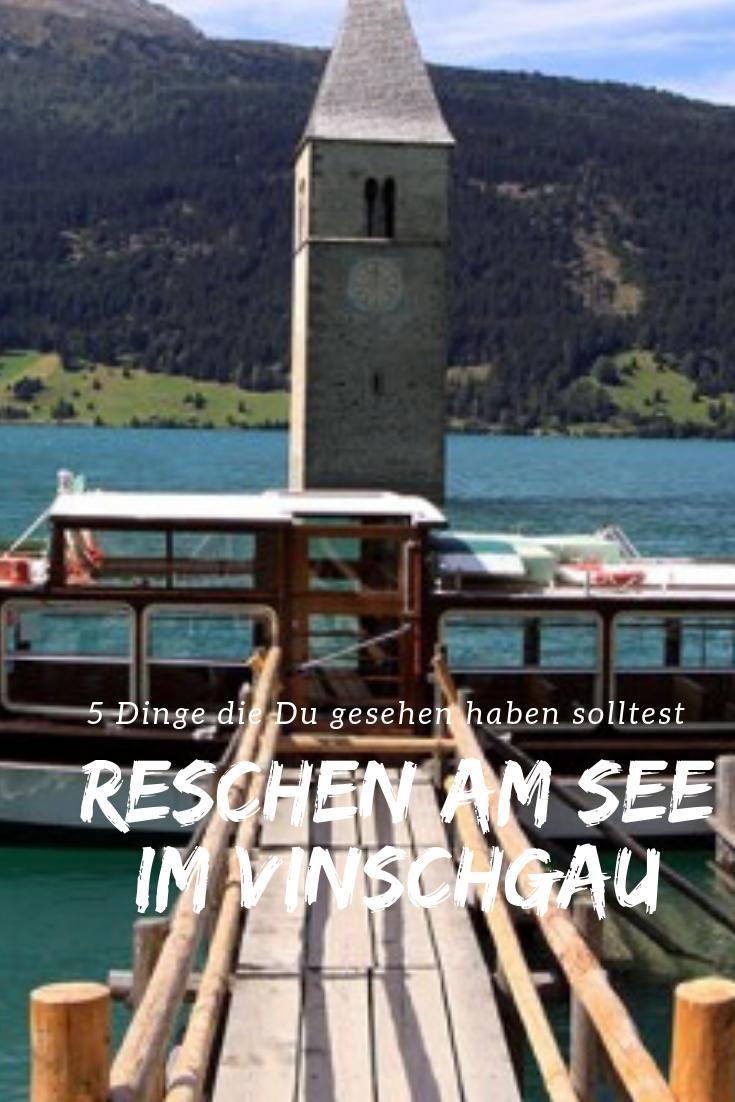 Urlaub in Reschen am See? Gleich südlich der Passgrenze