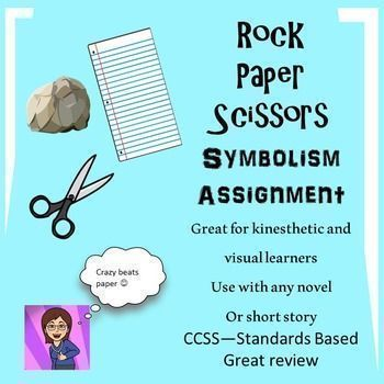 Symbolism Lesson For Any Novel Or Short Storyrock Paper Scissors