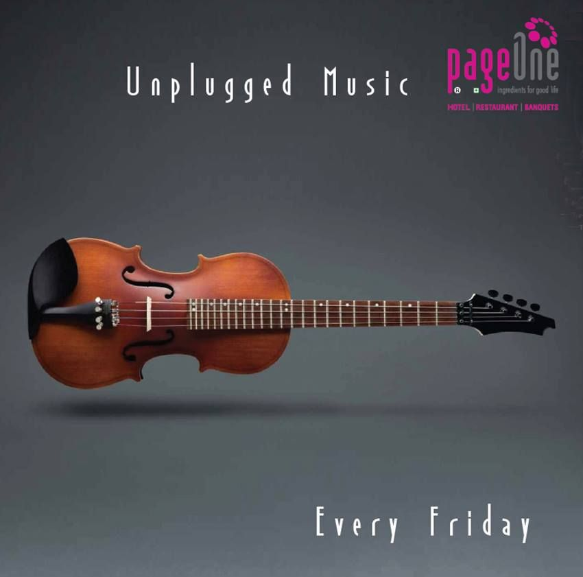 #Unpluggedmusic every #Friday.Soulful Music & Delicious Food a great combo always.Experience Bliss & Happiness.
