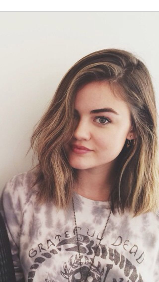 Lucy Hale Got A New Haircut And I Love It Hair X Pinterest