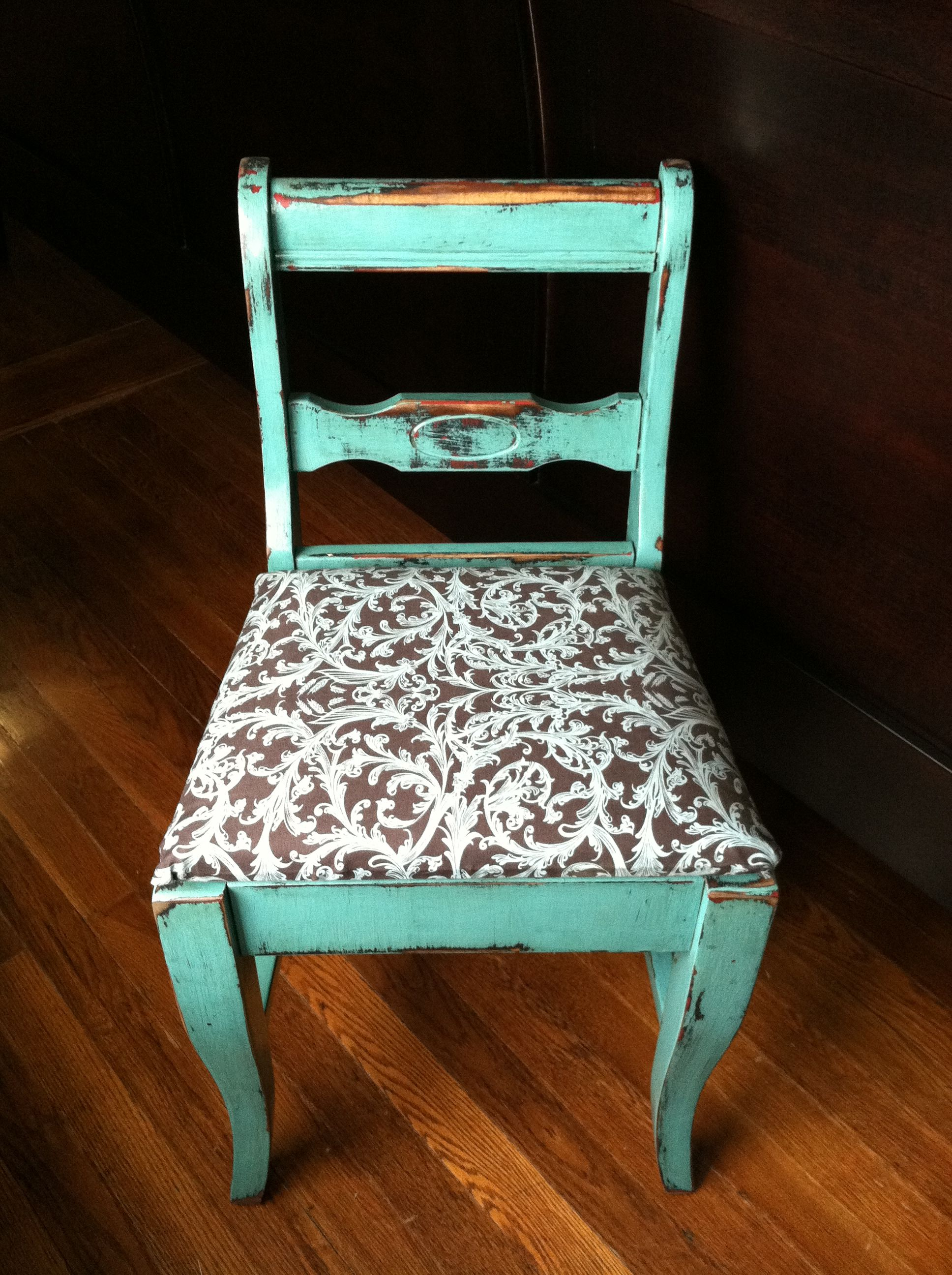 Another Goodwill find This one is a sewing chair The seat raises
