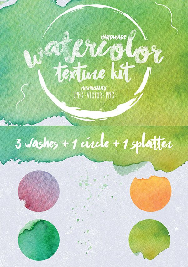 Free Watercolor Texture Kit Watercolor Texture Free Design