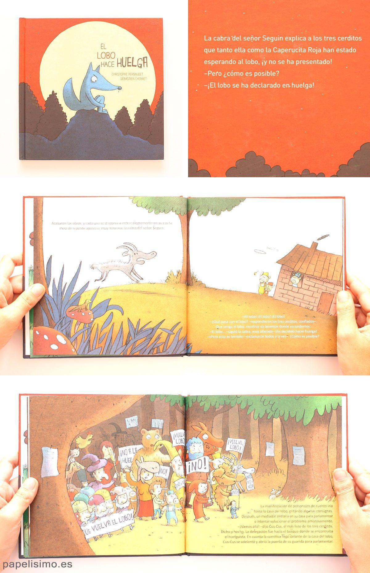 Libros-infantiles-El-Lobo-hace-huelga