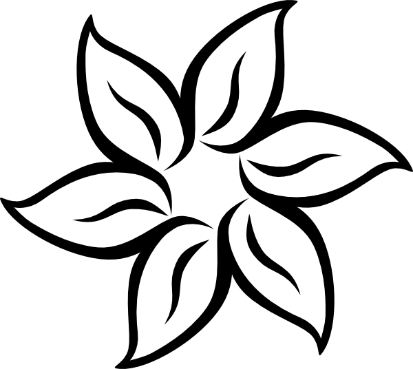 Drawings of flowers template. Free printable stencil patterns