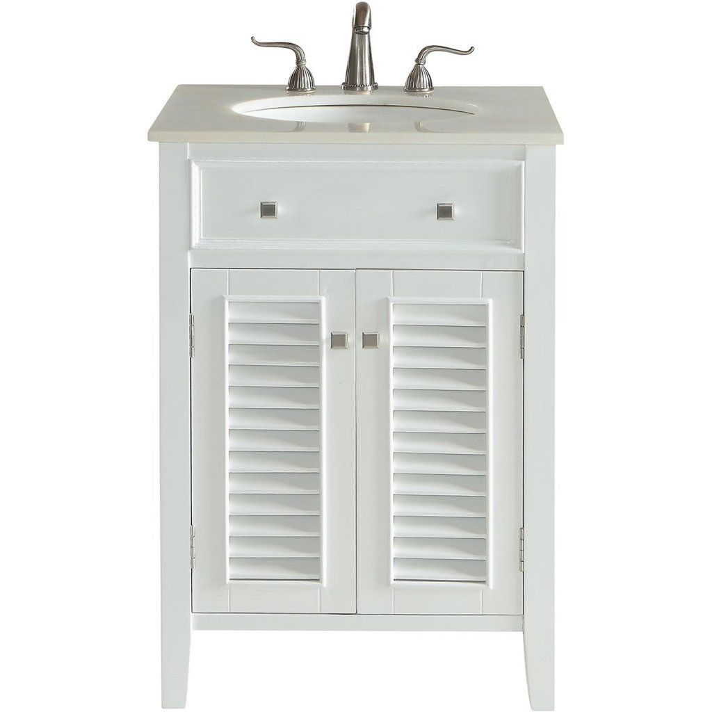 Cape Cod 24 X 35 2 Door Vanity Cabinet White Finish Vf10424wh Vanity Cabinet Vanity Cabinet Single Bathroom Vanity Vanity
