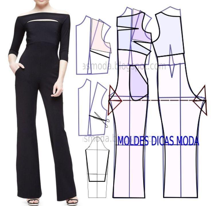 costura #moldes | variados bonito | Pinterest | Costura, Ropa y Vestidos
