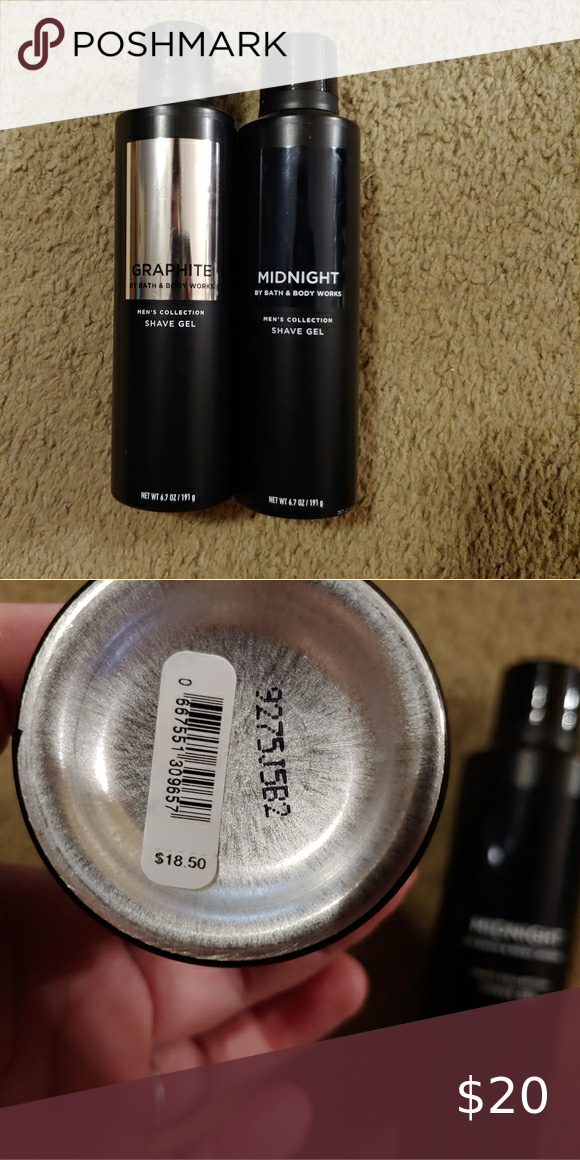Men's bath and body works shave gel